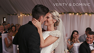 The wedding of Verity & Dominic